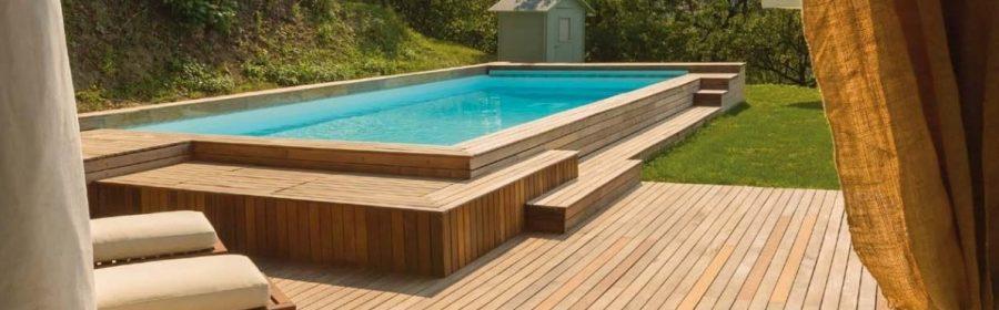 Piscina in giardino meglio una fuori terra indipendente - Quanto costa mantenere una piscina fuori terra ...